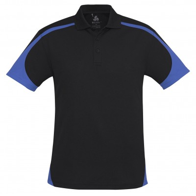 Talon Mens Golf Shirt Royal Blue Size 4XL