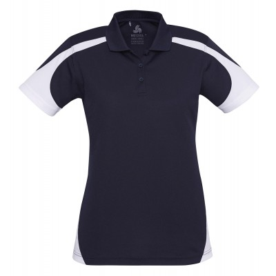 Talon Ladies Golf Shirt Size 2XL Navy