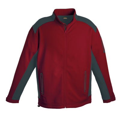 Pegasus Jacket Red/Granite Size 2XL
