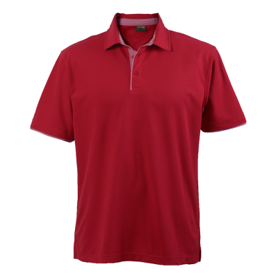 Mens Pulse Golfer Red Size 2XL
