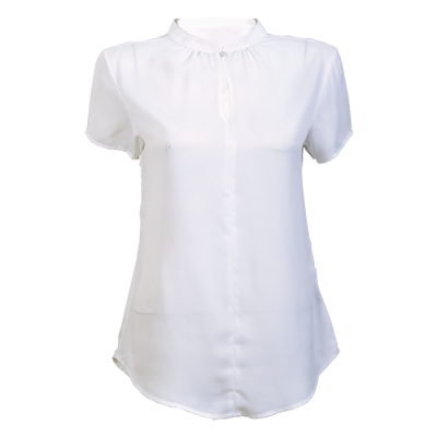 Ladies Jasmine Blouse White Size 4XL