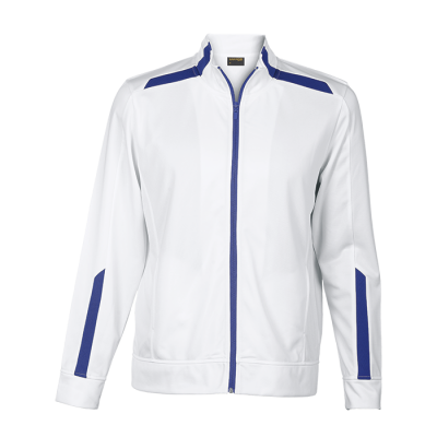 Traction Jacket White/Royal Size Small