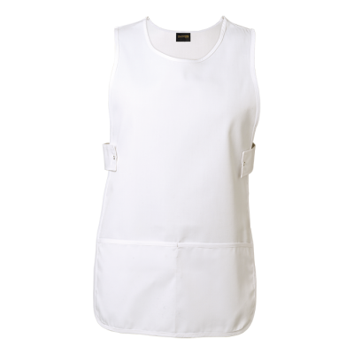 Iris Pinafore White Size L/XL