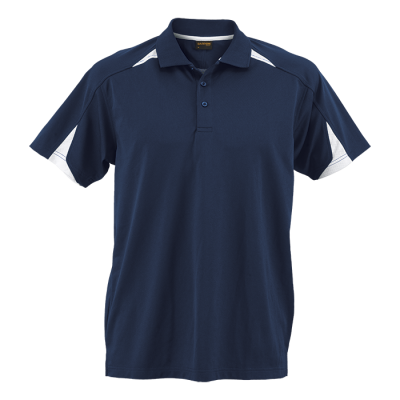 Mens Solo Golfer Navy/White Size Medium