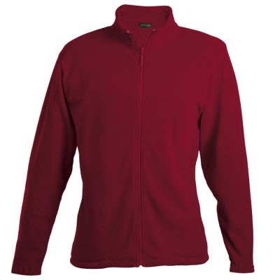 Ladies Hybrid Fleece Red Size 3XL