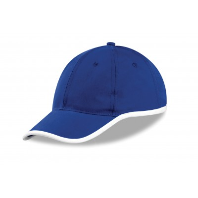 Us Basic New Jersey 6 Panel Cap Blue