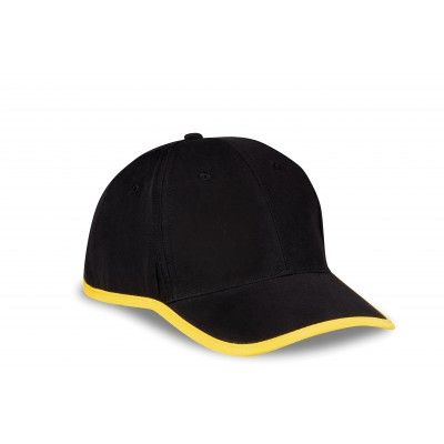 Us Basic Soho 6 Panel Cap Yellow