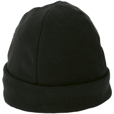 Polar Fleece Beanie Black
