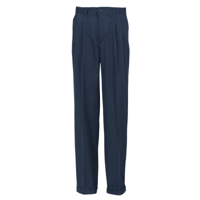 Poly Cotton Chino Navy Size 46