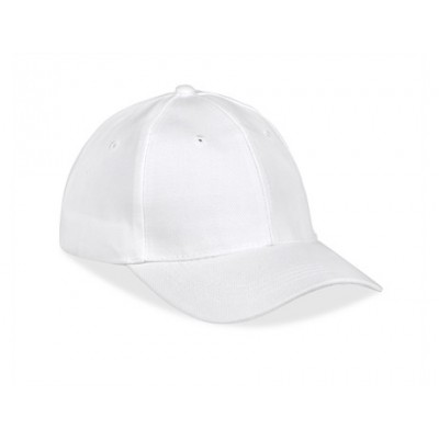 Cincinnati 6 Panel Cap White