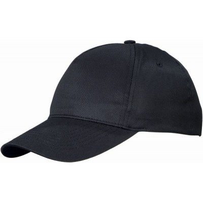 Us Basic Memphis 5 Panel Cap Black