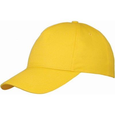 Us Basic Memphis 5 Panel Cap Yellow