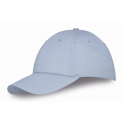 Us Basic Detroit 6 Panel Cap Ocean Blue