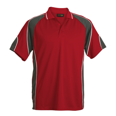 Impact Golfer Size 2XL Red/Charcoal/ White