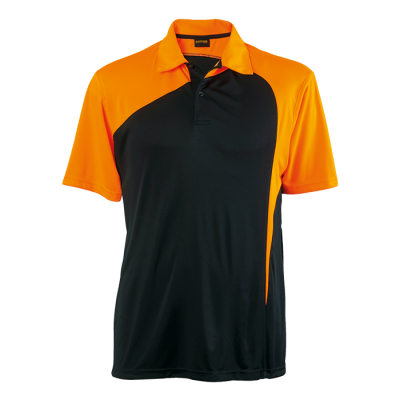 Torpedo Golfer Size 3XL Black/Vivid Orange