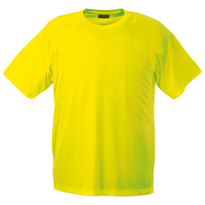 135g Barron Polyester T-Shirt Size Large Safety Yellow