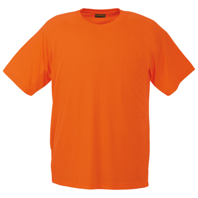 135g Barron Polyester T-Shirt Size Medium Safety Orange