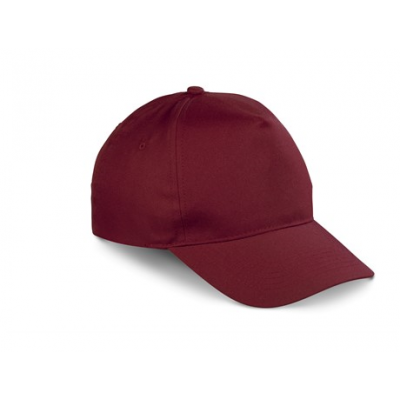 Brooklyn 5 Panel Peak Maroon