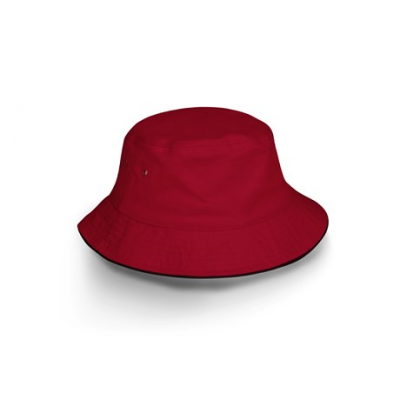 Bailey Floppy Hat Red