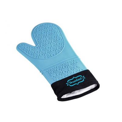 Masterclass Silicone Oven Glove Cyan