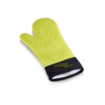 Masterclass Silicone Oven Glove Lime