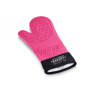 Masterclass Silicone Oven Glove Pink