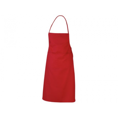 Promo Bib Apron Red