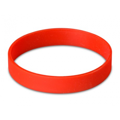 Silicone Wristband Red