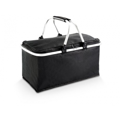 Nevada Picnic Basket Cooler Black