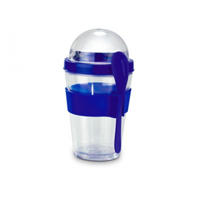 Yo-on-the-go Breakfast Cup Blue