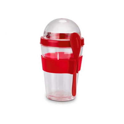 Yo-on-the-go Breakfast Cup Red