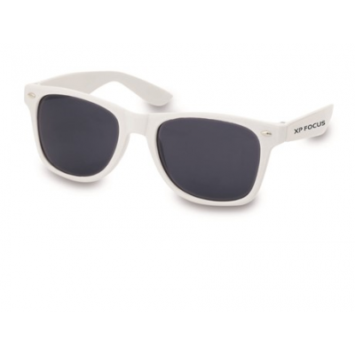Jack Sunglasses Solid White