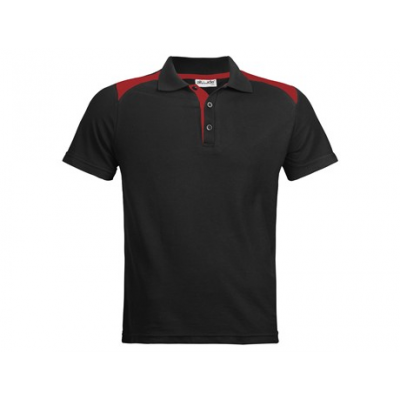 Apex Gents Golfer Black With Red Size Medium