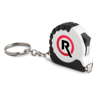 Tape Measure Keyholder Solid White