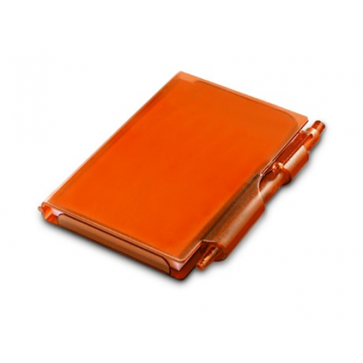 Nifty Notebook & Pen Orange
