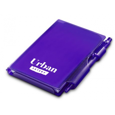 Nifty Notebook & Pen Purple