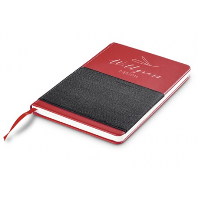 Flux Midi Notebook Red