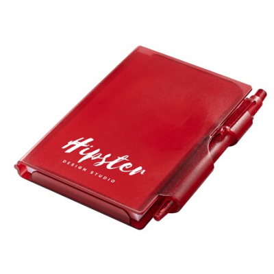 Nifty Notebook & Pen Red