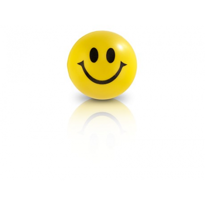 Smile Stress Ball Yellow