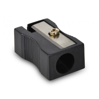 Basix Plastic Sharpener Black