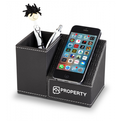 Advantage Pen And Phone Holder Black