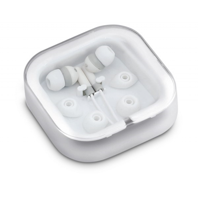 Grooves Earbuds Solid White