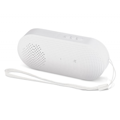 Icon Bluetooth Speaker Solid White