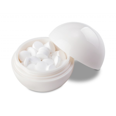 Jolly Mints Ball Solid White