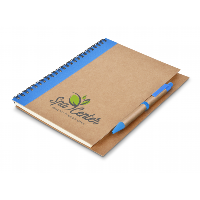 Kalahari A5 Ecological Notebook Blue