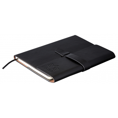 Peninsula Midi Notebook Black