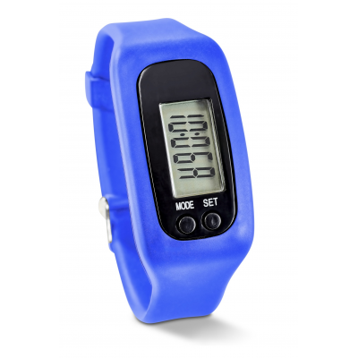 Strider Pedometer Watch Blue