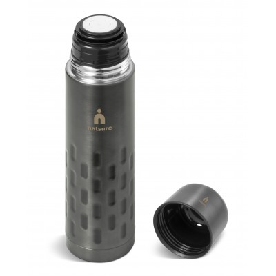 Binary Flask - 500Ml Gun Metal