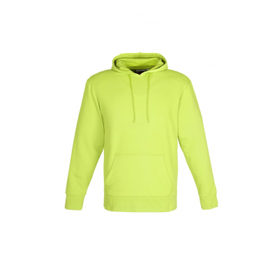 Us Basic Mens Omega Hooded Sweater Lime Size 2XL