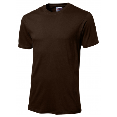 Us Basic Super Club 135 T-Shirt Brown Size Large